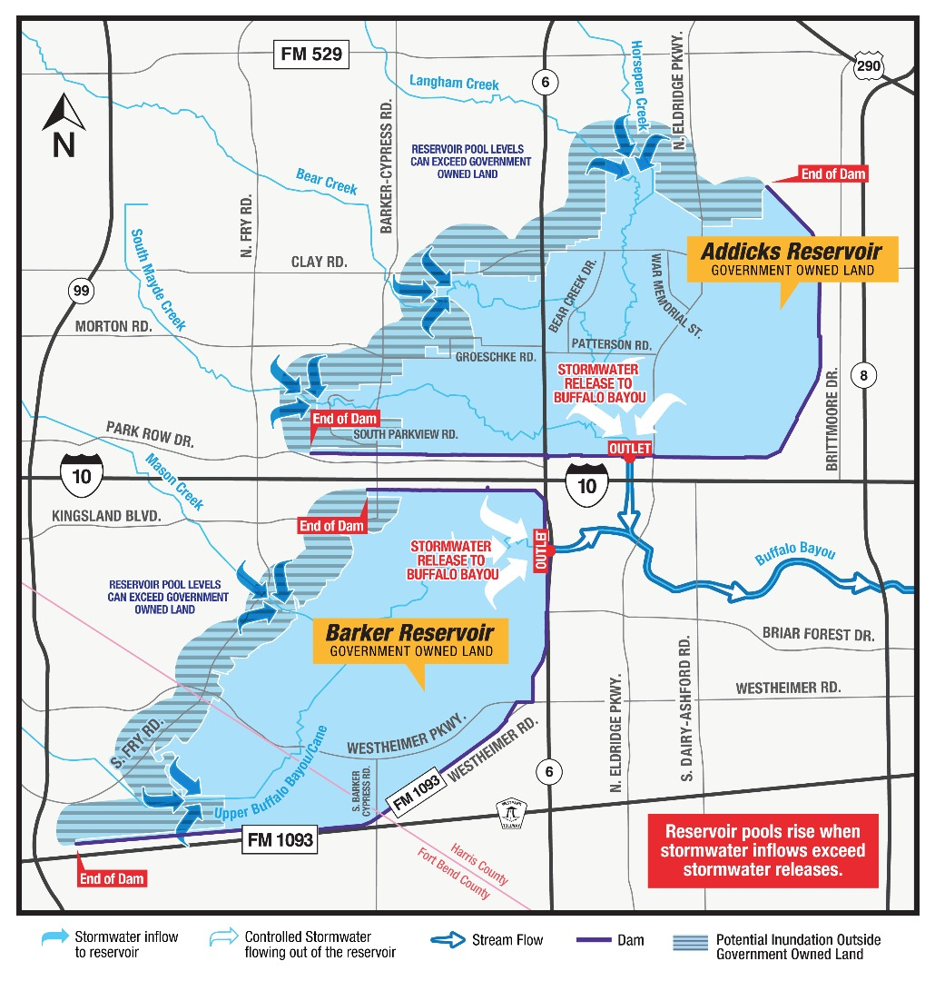 Katy Texas Flooding Map Katy Flood Zones   by Local Area Expert