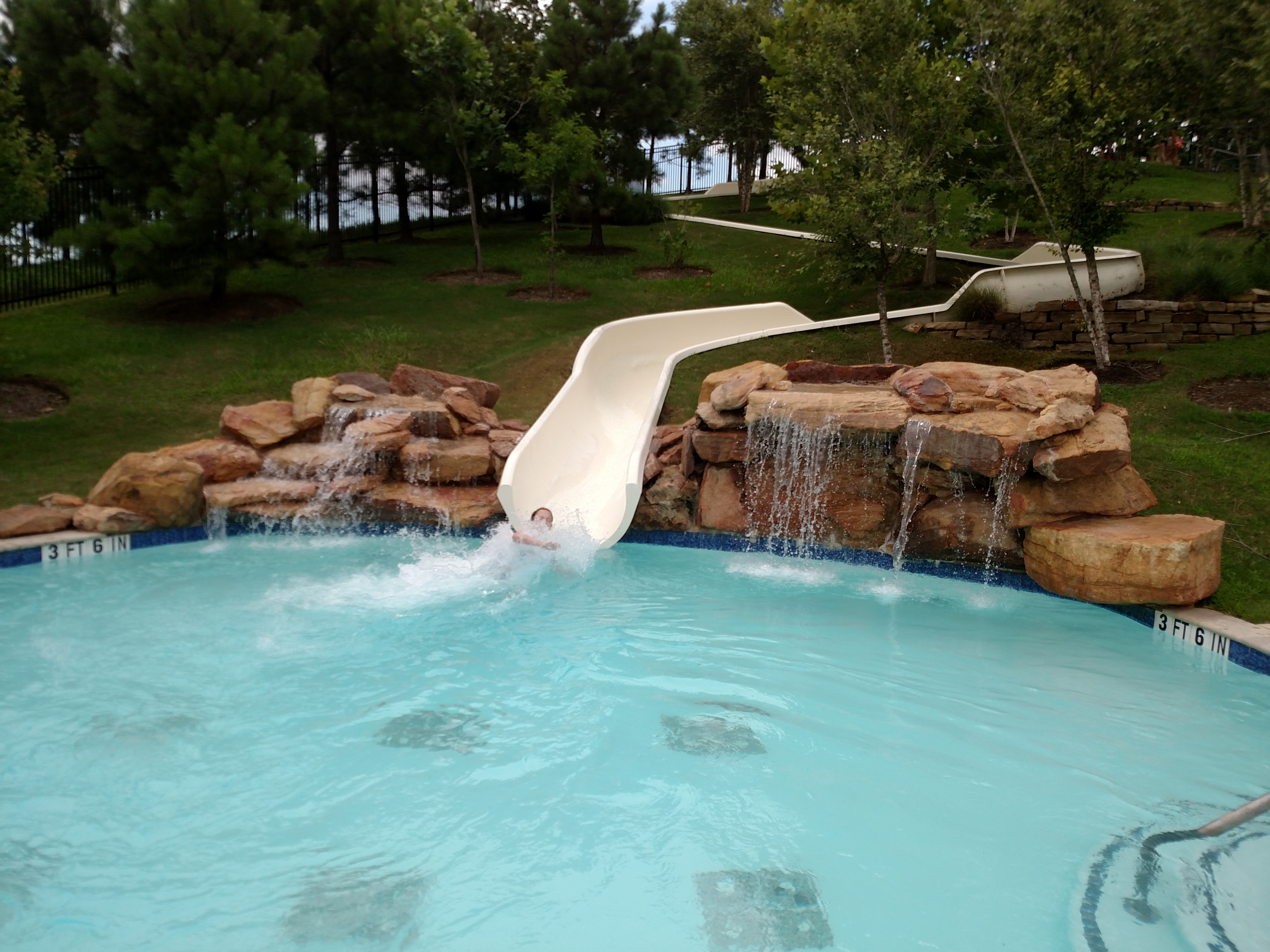 cross creek ranch water slide
