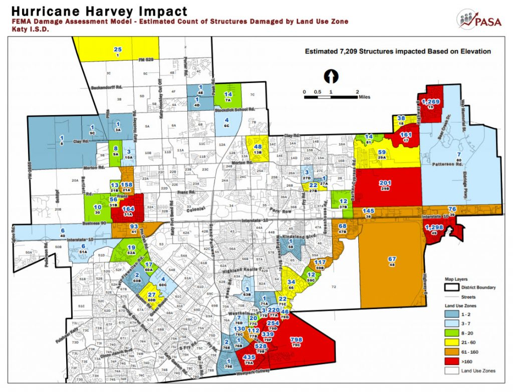 Katy Texas Flood Map Katy Flood Zones   by Local Area Expert
