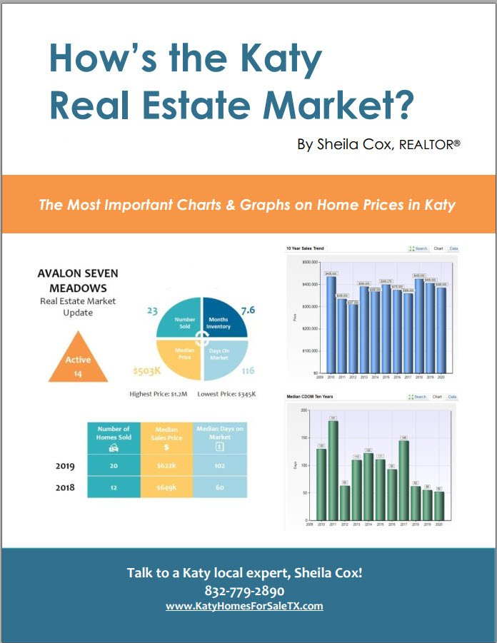 katy real estate market report