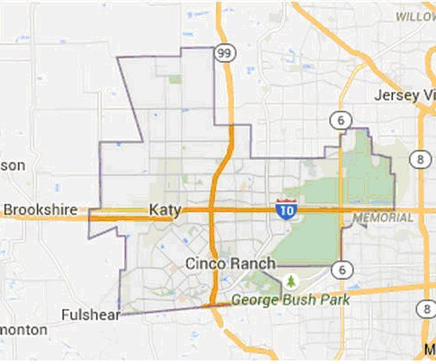 katy-tx-area-map