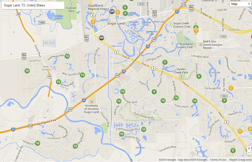 school-map-sugar-land