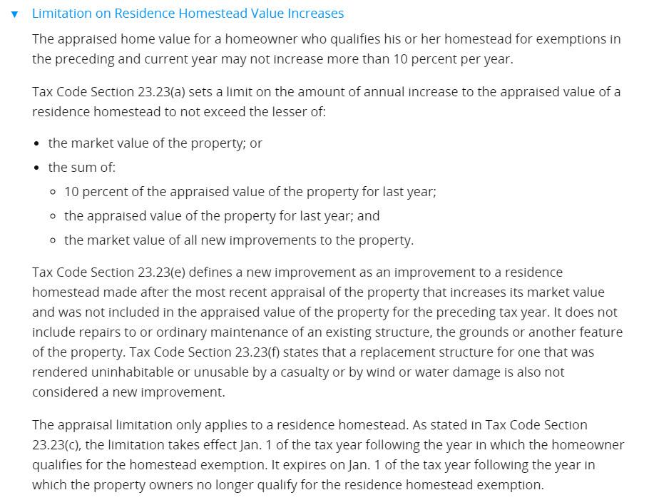 property tax limits