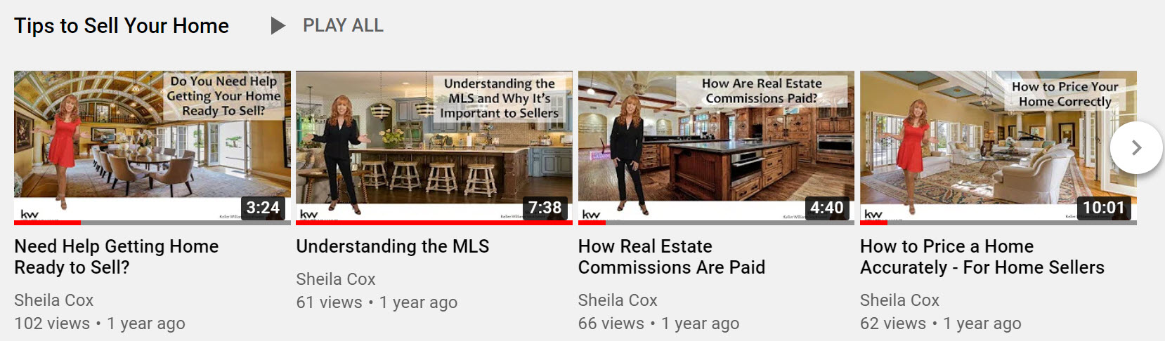 videos for home sellers
